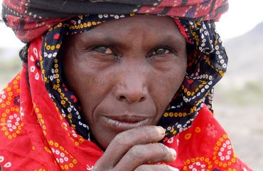 Äthiopien-Afar Frau