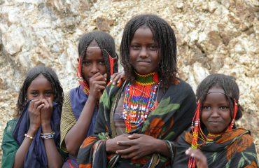 Äthiopien Afar Mädchen