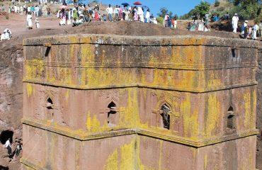 Äthiopien Lalibela Felsenkirchen