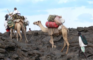 Äthiopien - auf dem Weg zum Erta Ale Vulkan