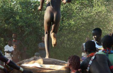 Äthiopien Hamar Bullensprung