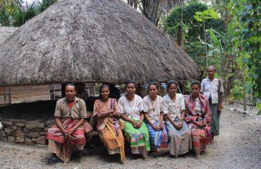 Boti village timor island