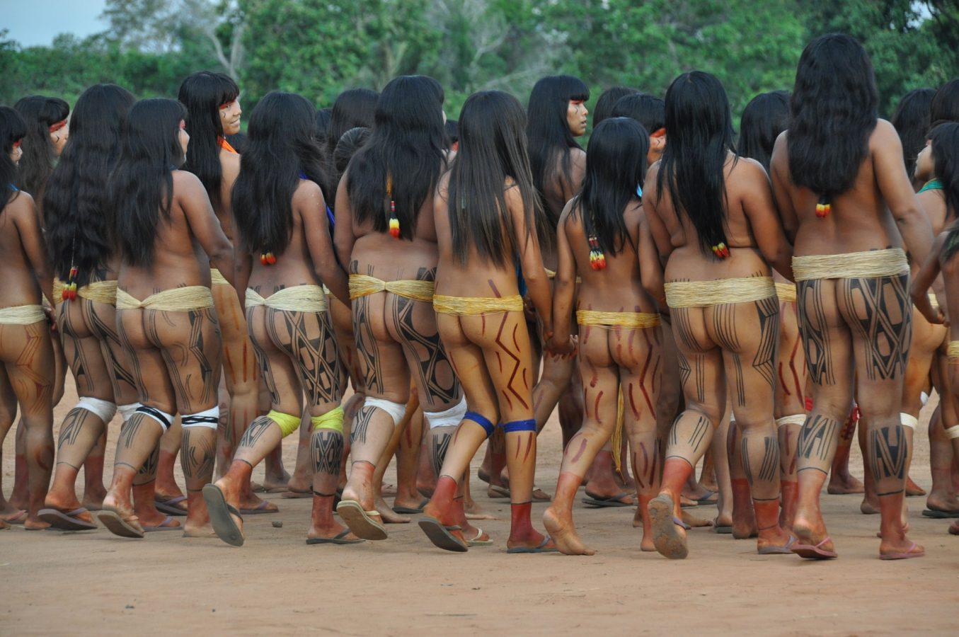 Голое племя индейцев видео — pic 2