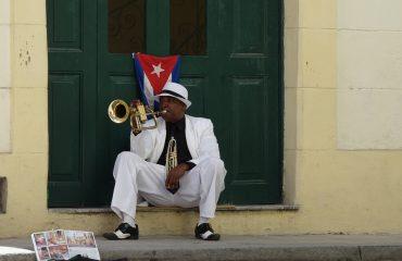 Cuba Straßenmusikant