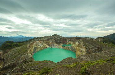 Kelimutu lakes Flores
