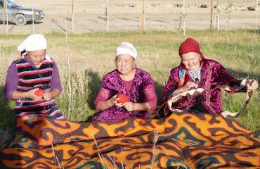Kirgistan Frauen