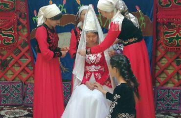 Kirgistan Hochzeit