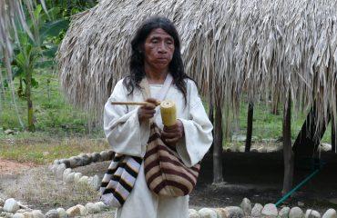 Kolumbien Kogi Mamo