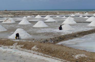 Kolumbien Salzgewinnung