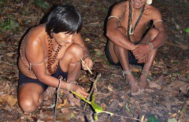 Kolumbien Matis Indianer