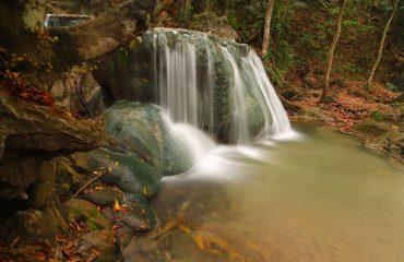 Oehala waterfall Timor island