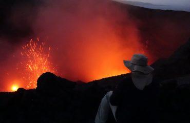 Vanuatu Insel-Tanna Vulkan Yasur
