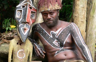 Vanuatu Insel Malekula Small Nambas