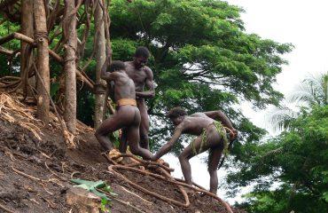 Vanuatu Insel Pentecost Land-diving