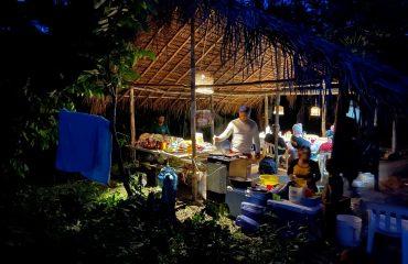 Yanomami Camp im Wald